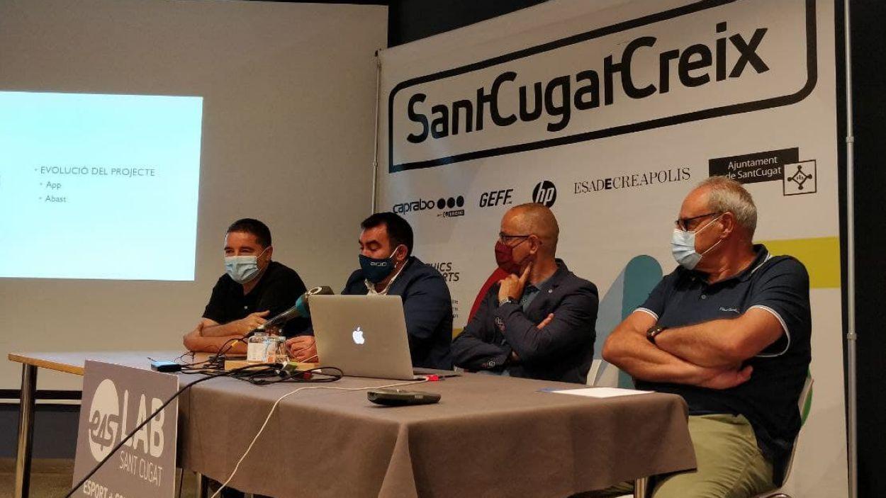 SantCugatCreix confia en el potencial d'E4S per incidir en les situacions negatives en el món de l'esport