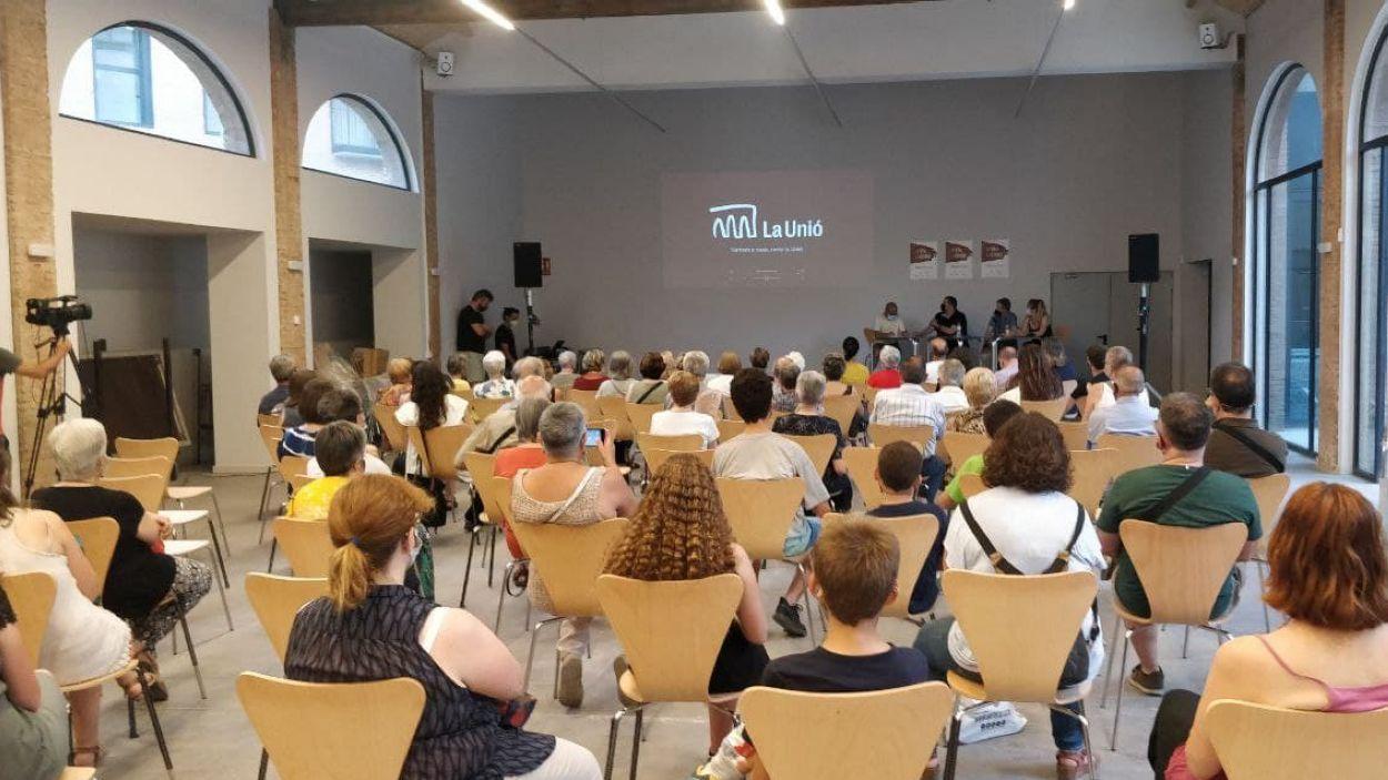 El seminari tindrà lloc a la sala Clavé de La Unió / Foto: Cugat Mèdia