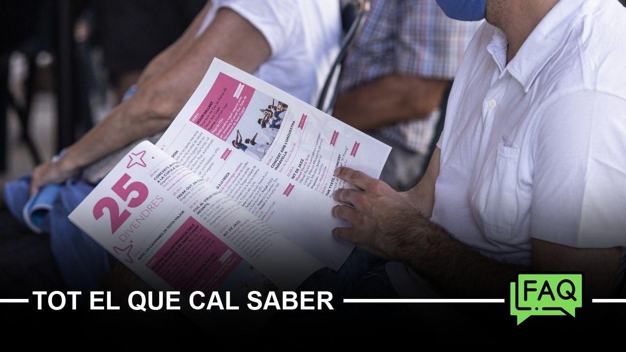 La Festa Major de Sant Cugat serà del 25 al 29 de juny, amb un centenar d'activitats / Foto: Lali Puig (Ajuntament)