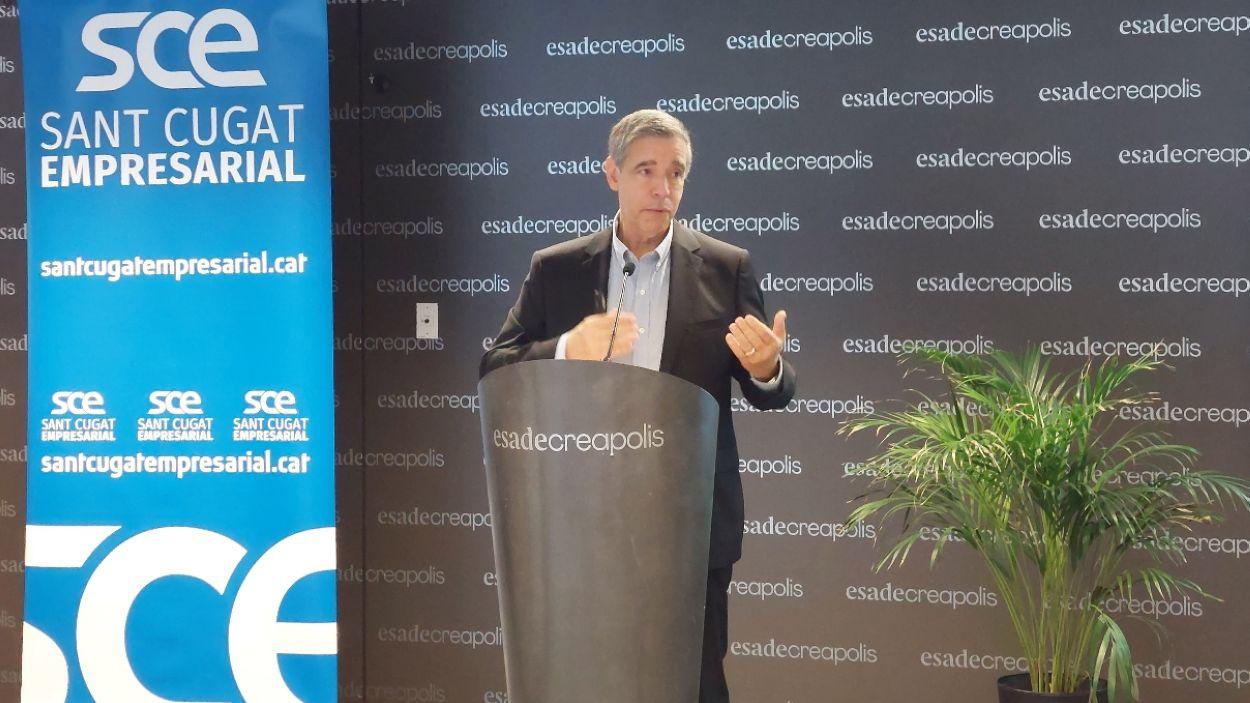 El nou president de Sant Cugat Empresarial, Jaume Vives / Foto: Sant Cugat Empresarial