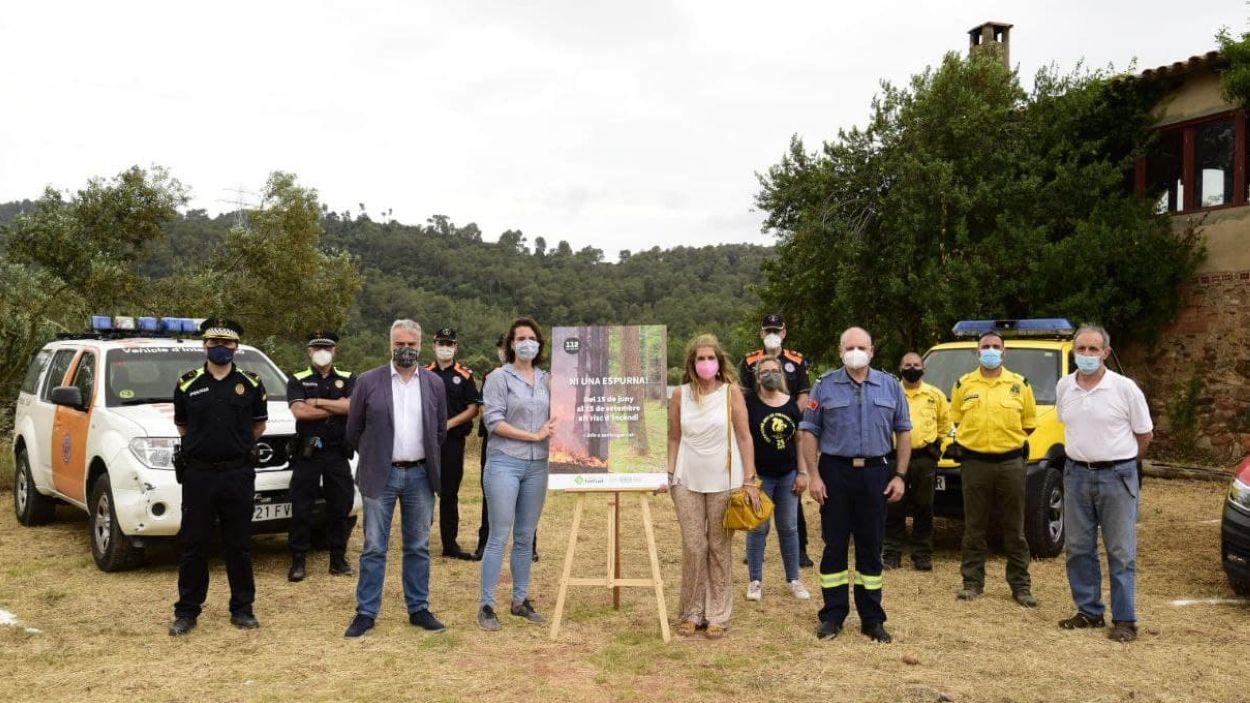 La presentació de la campanya ha tingut lloc a Can Monmany / Foto: Laura Gómez - Ajuntament de Sant Cugat