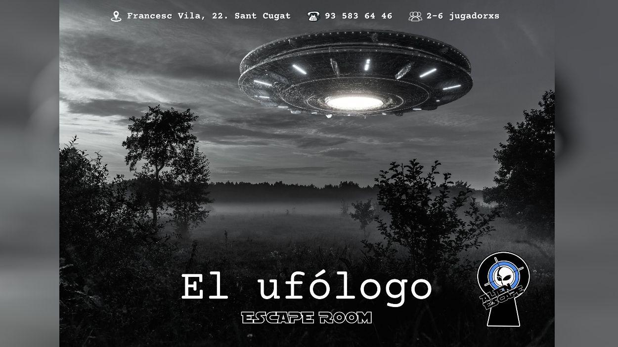 Cartell de l'escape room / Foto: Alien Zone
