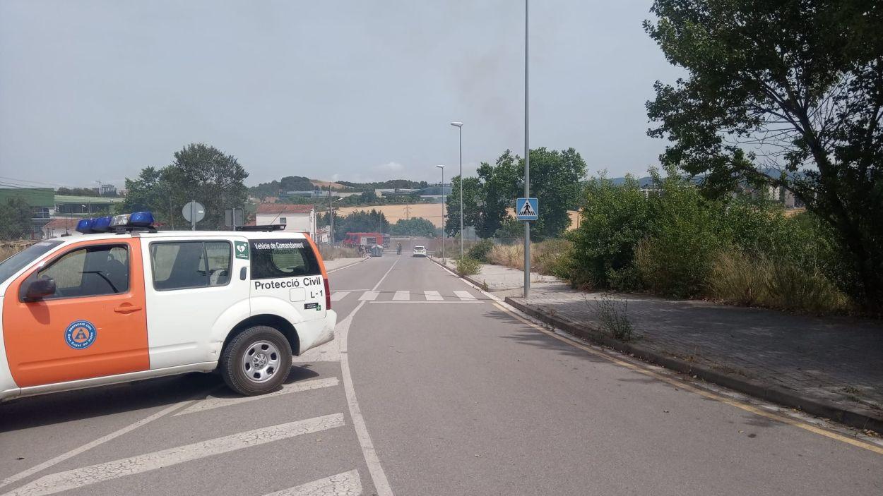 Imatge del lloc dels fets / Foto: Ajuntament de Sant Cugat