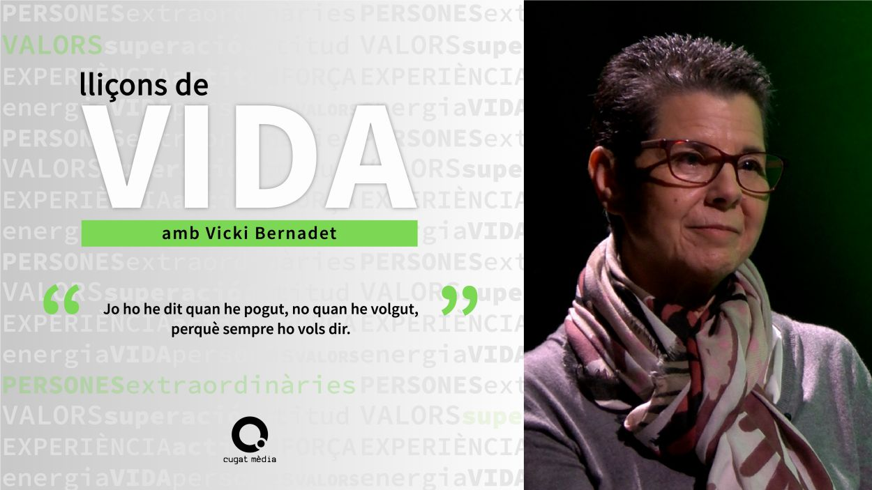 Vicki Bernadet, impulsora de la Fundació Vicki Bernadet / Foto: Cugat Mèdia