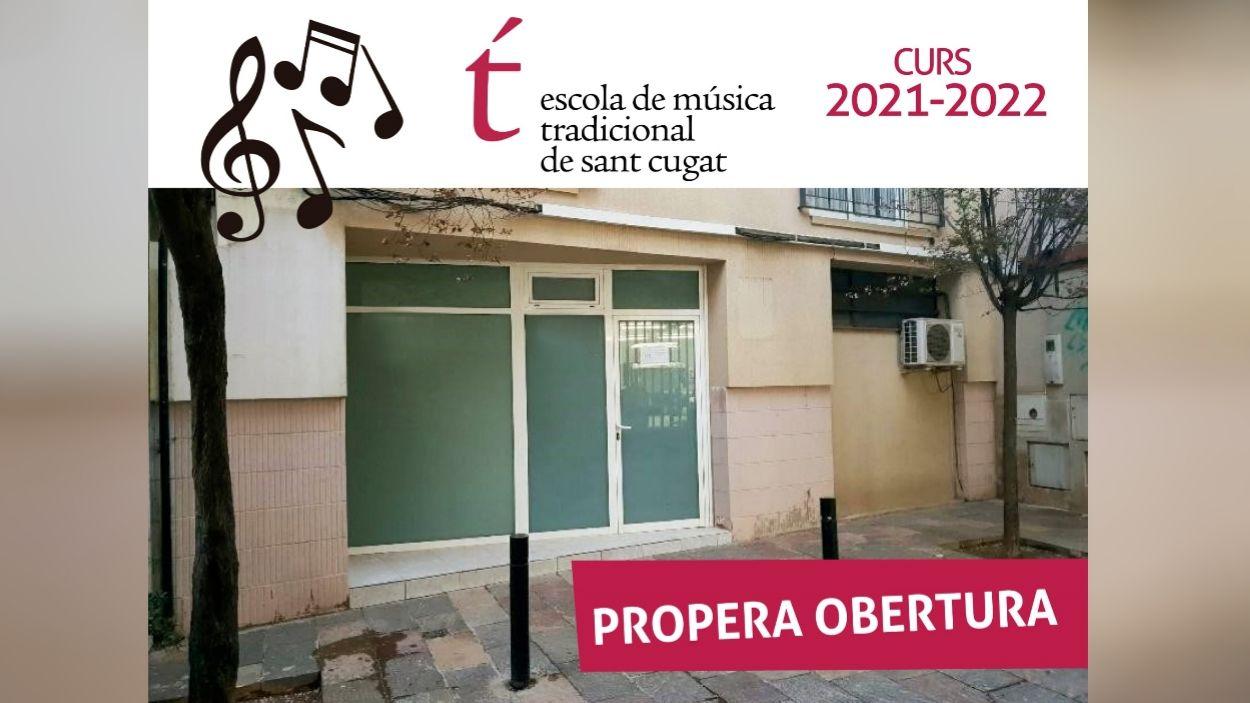 El nou local de l'Escola de Música Tradicional de Sant Cugat / Foto: EMTSC
