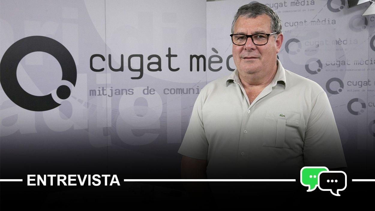 El president de l'EMD de Valldoreix, Josep Puig / Foto: Cugat Mèdia - Lluís Llebot