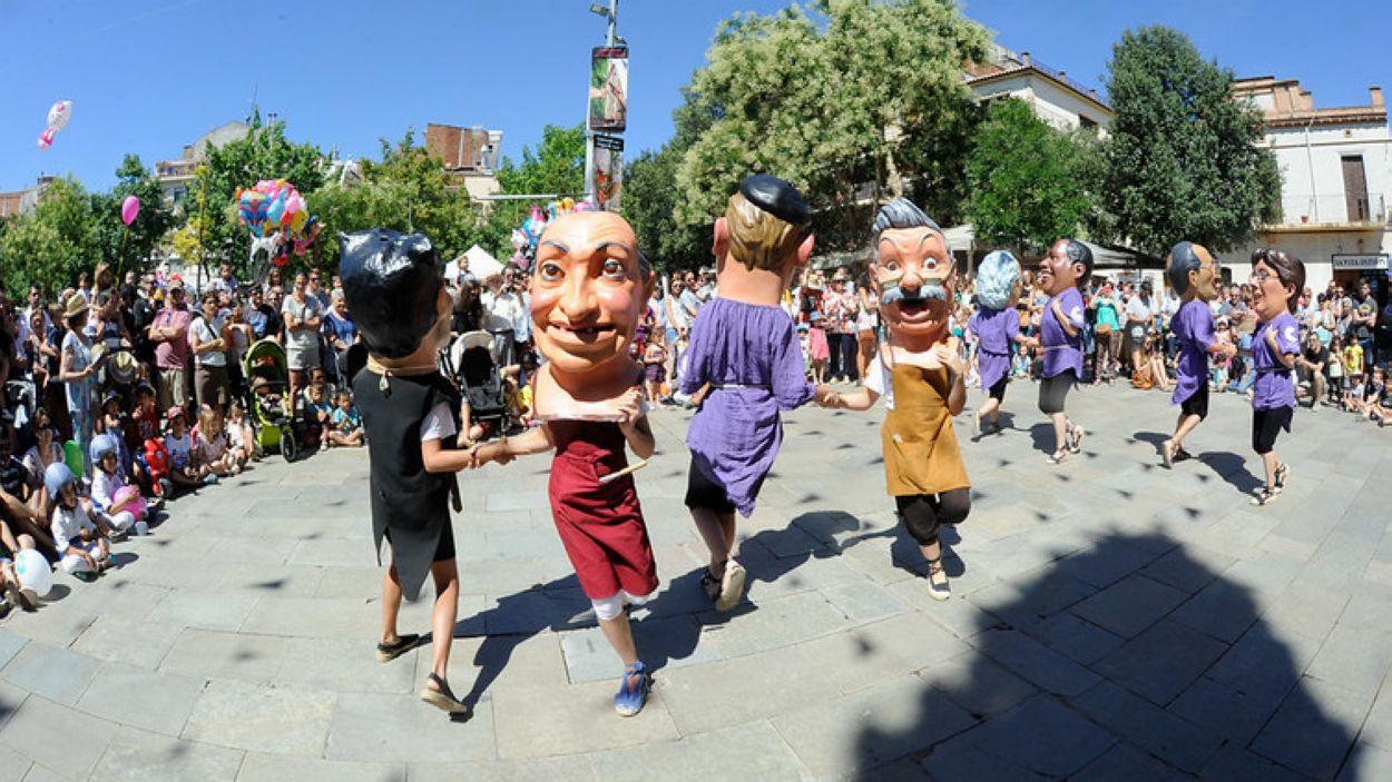 Ball dels caparrots / Foto: Ajuntament de Sant Cugat