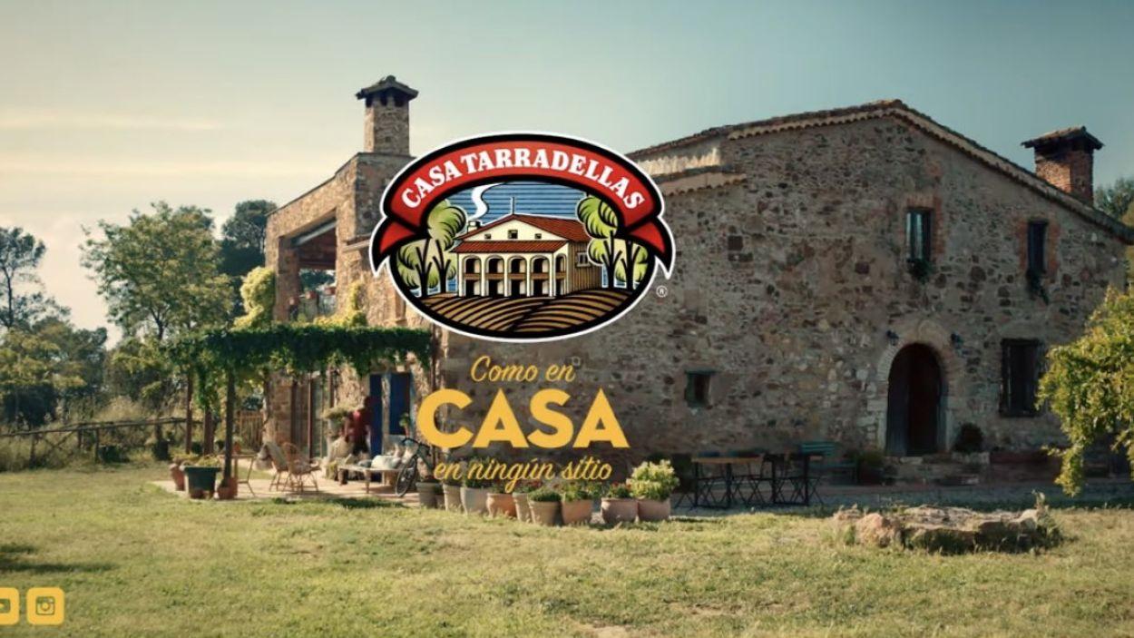 Imatge de la masia de Can Cussó, a Valldoreix / Foto: Casa Tarradellas