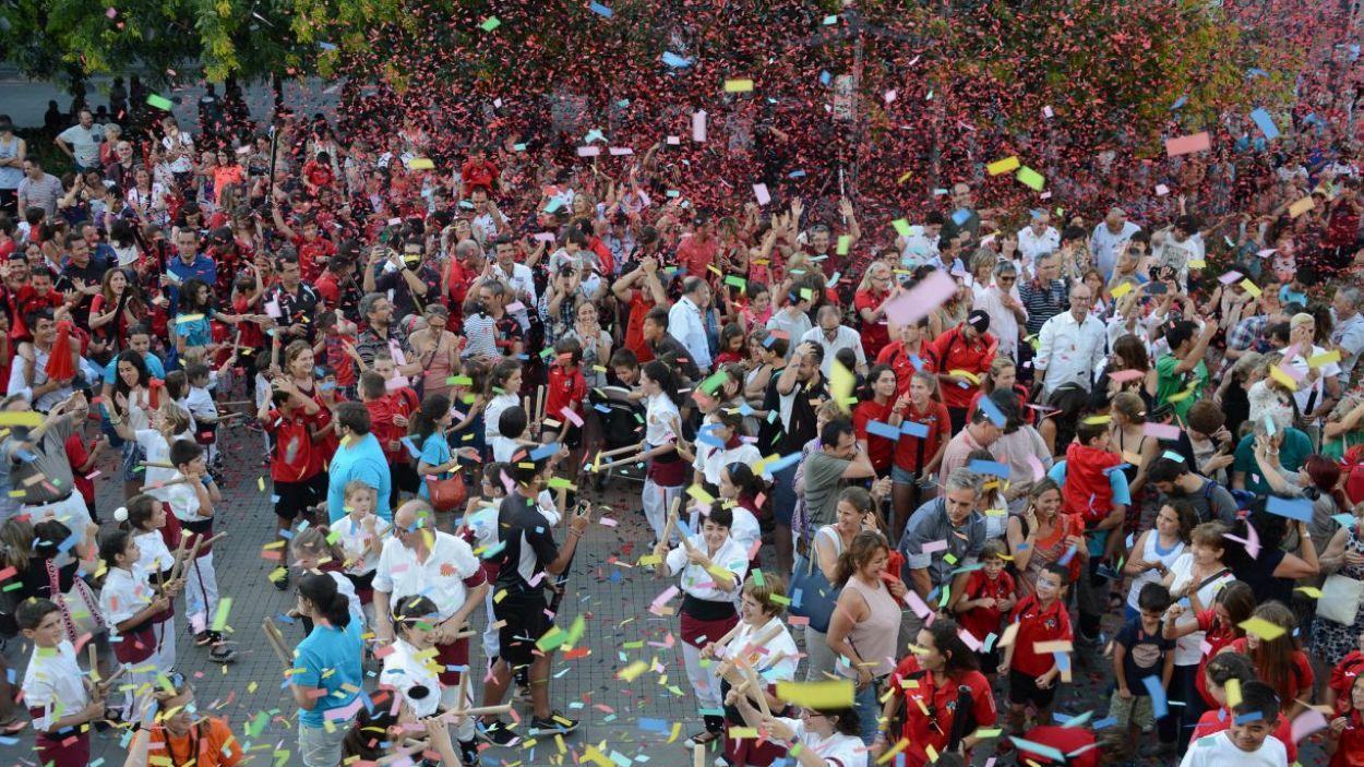 El pregó de Festa Major de 2019 / Foto: Ajuntament