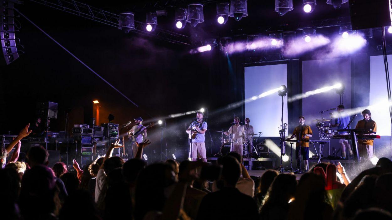 Oques Grasses durant el concert de Festa Major de Sant Cugat / Foto: Lali Puig - Ajuntament de Sant Cugat