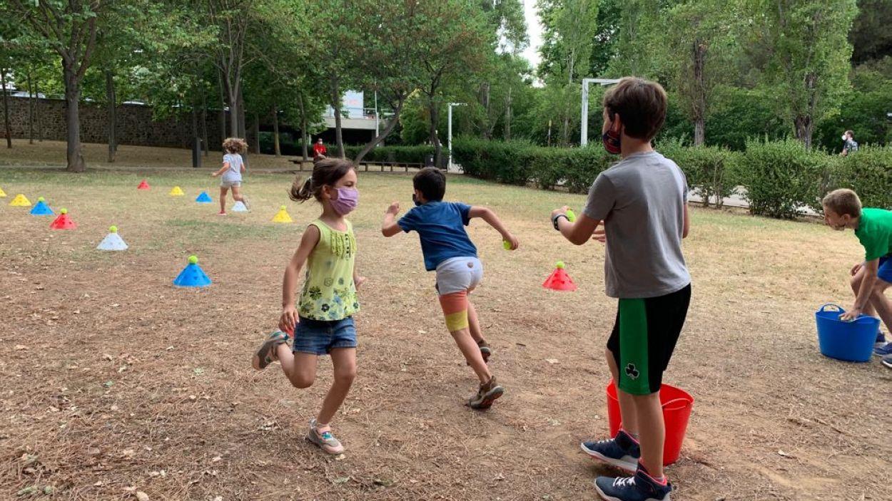 La Festa de l'Esport al Carrer s'ubica al Parc Central fins al 29 de juny / Foto: Cugat Mèdia