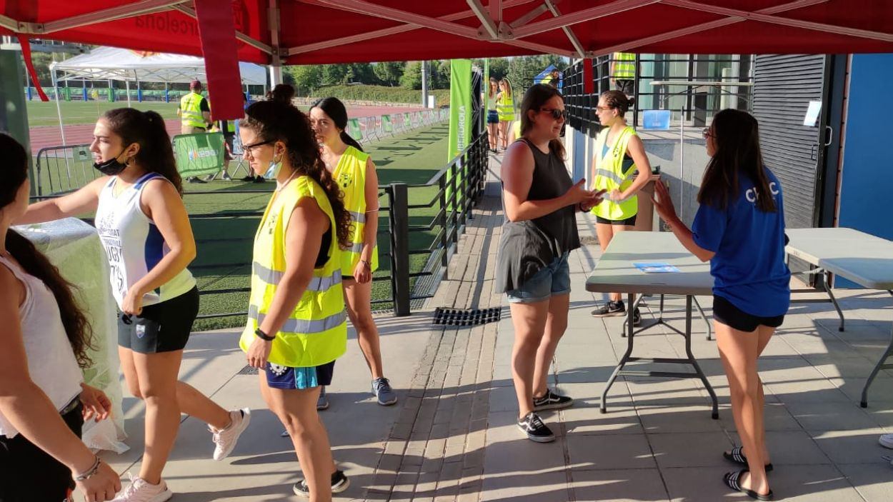 L'equip del Rugby Sant Cugat, clau a l'organització a la Copa de la Reina / Foto: Cugat Mèdia