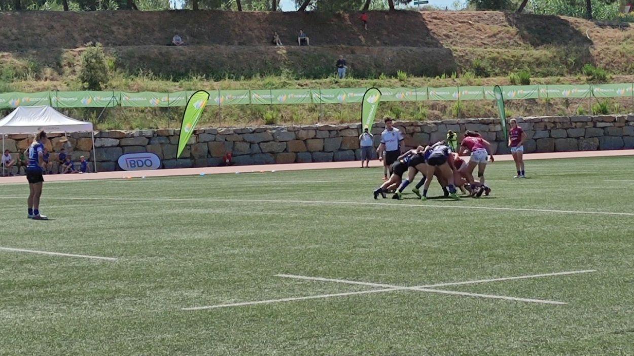 El Rugby Sant Cugat lluitarà per la permanència a la Copa de la Reina / Foto: Cugat Mèdia
