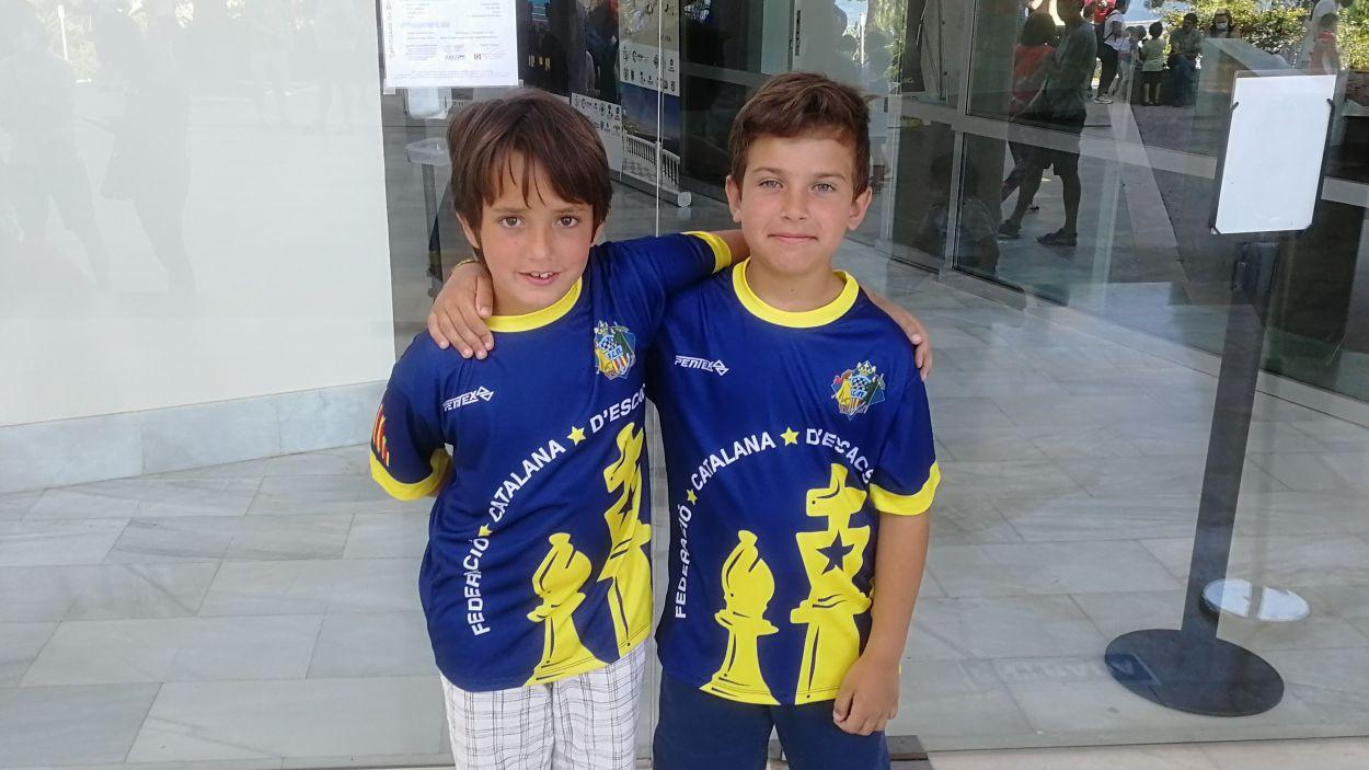 D'esquerra a dreta, Anton Puigneró i Nicolás Garcia / Foto: Ramon Puigneró