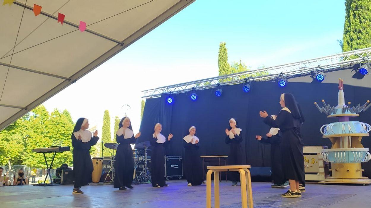 'Sister act' és una de les actuacions de teatre musical / Foto: Cugat Mèdia