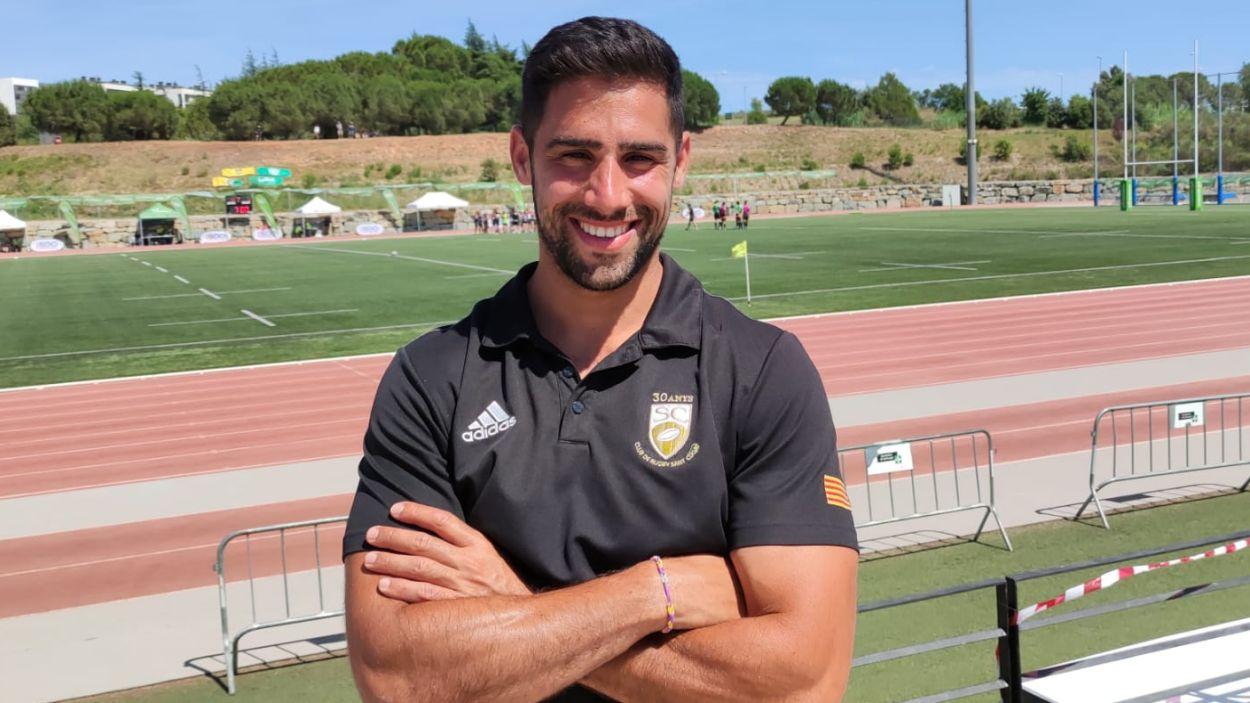 Albert Casorrán seguirà a la banqueta del Rugby Sant Cugat / Foto: Cugat Mèdia