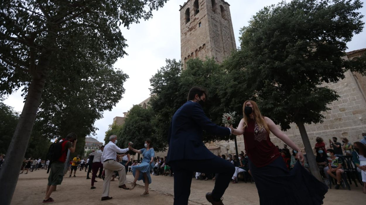 El 'Paga-li, Joan', tota una tradició de Sant Cugat / Foto: Lali Puig - Ajuntament