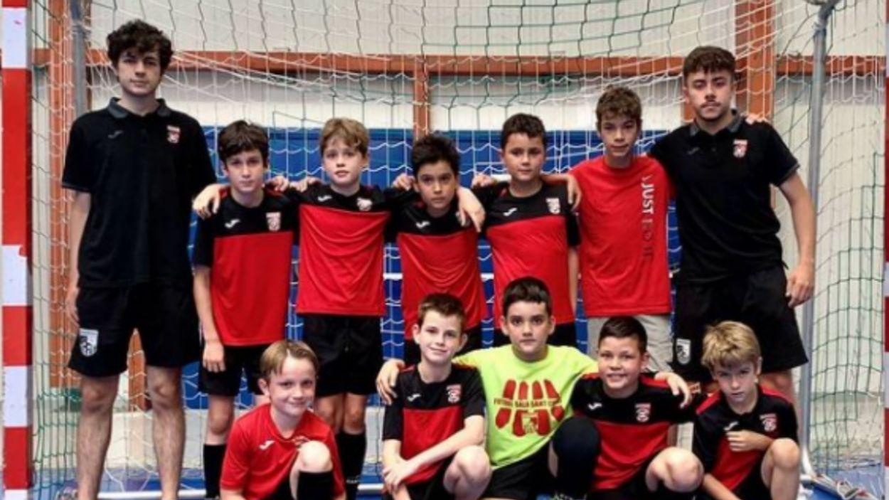 El Futbol Sala Sant Cugat i la Ferrao Academy uneixen els seus camins / Font: FSSC