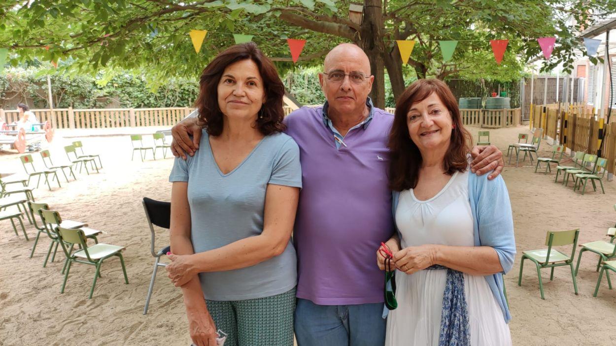 D'esquerra a dreta, Teresa Capdevila, Oswaldo Romero i Rosa Roig / Foto: Cugat Mèdia