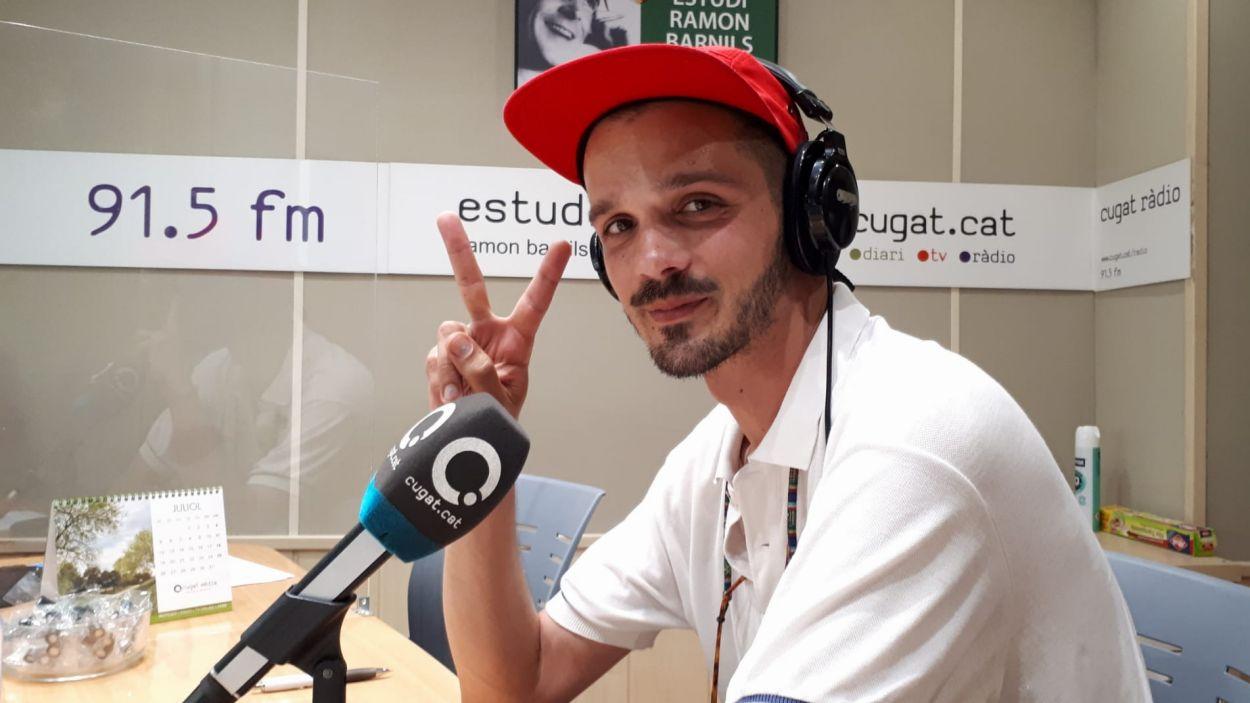 El Noi de Tona presenta el seu nou disc a Ràdio Sant Cugat / Foto: Cugat Mèdia