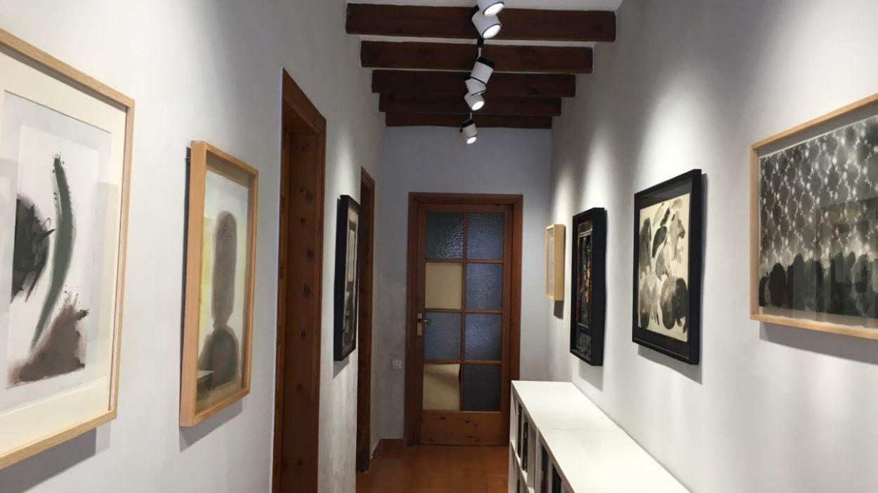 La mostra 'Grau-Garriga 10 anys després' a Canals Galeria d'Art / Foto: Cugat Mèdia