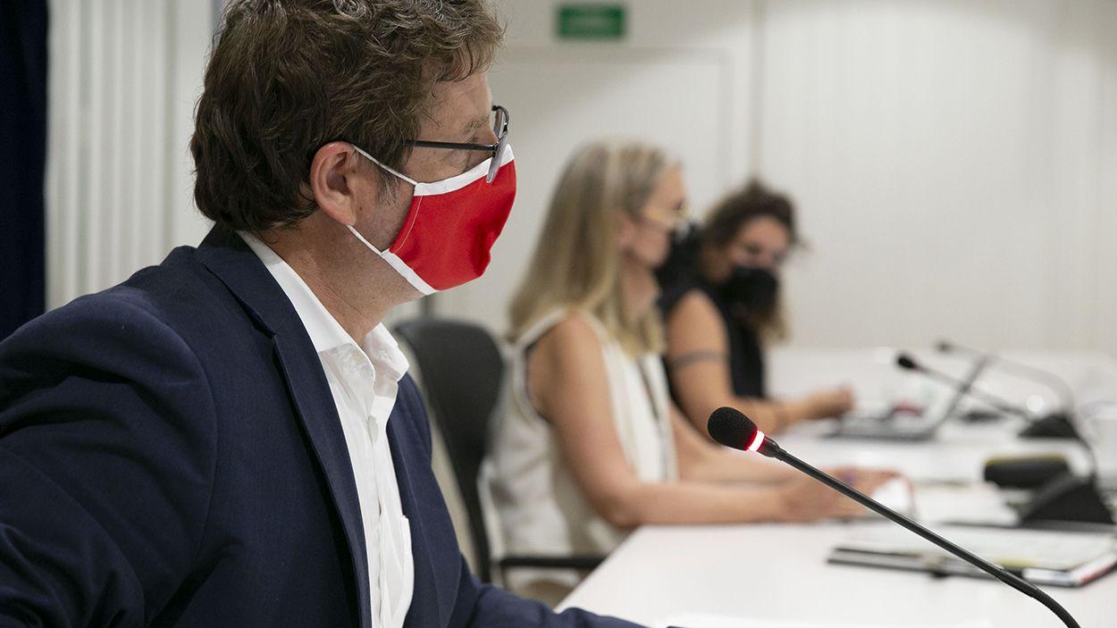 Pere Soler, primer tinent d'alcaldia de Presidència, Hisenda, Serveis Urbans, Mobilitat i Seguretat / Foto: Localpess