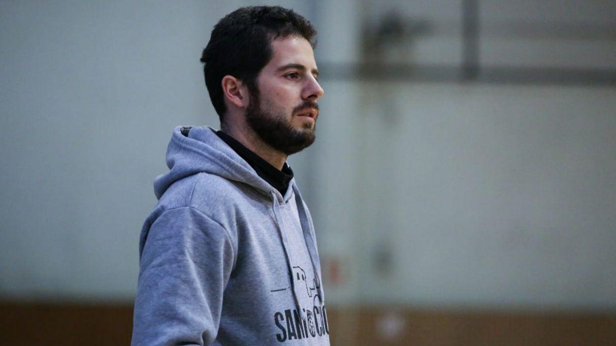 Albert Tejero durant un partit amb el Futbol Sala Sant Cugat / Foto: Cedida