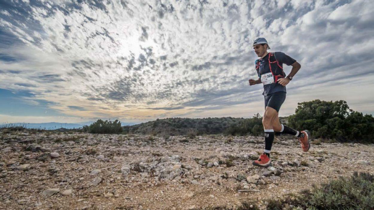 Oriol Sanz en una de les sortides per la muntanya / Foto: Oriol Sanz