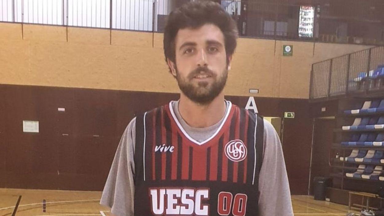 Bernat Camarasa és un dels nous fitxatges de la UESC / Foto: UESC