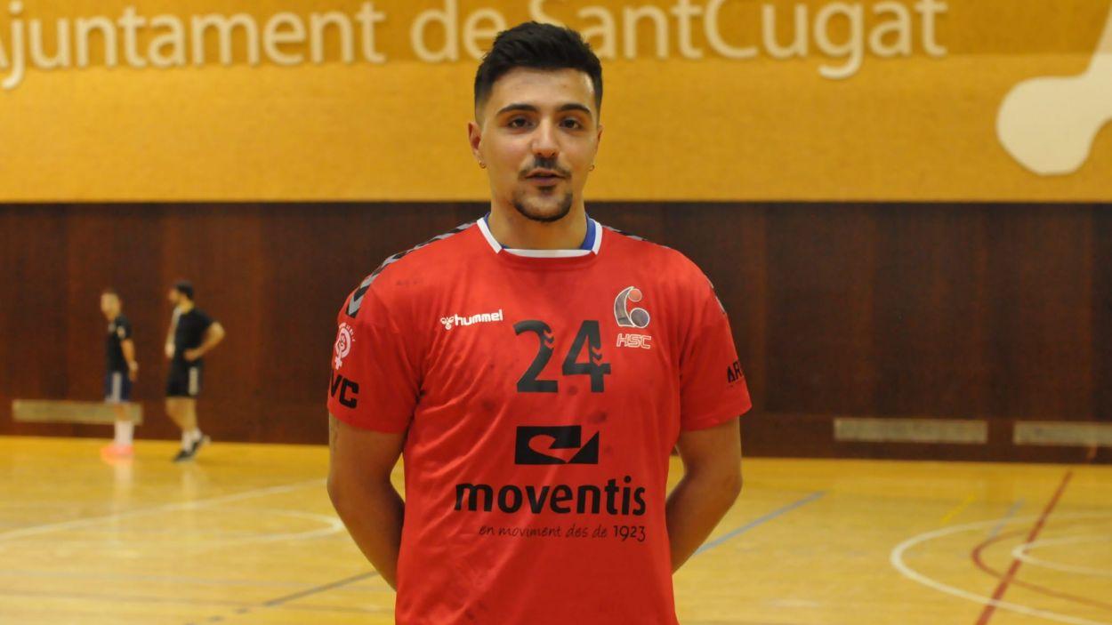 Jordi Sancho, nou jugador de l'Handbol Sant Cugat / Foto: Handbol Sant Cugat