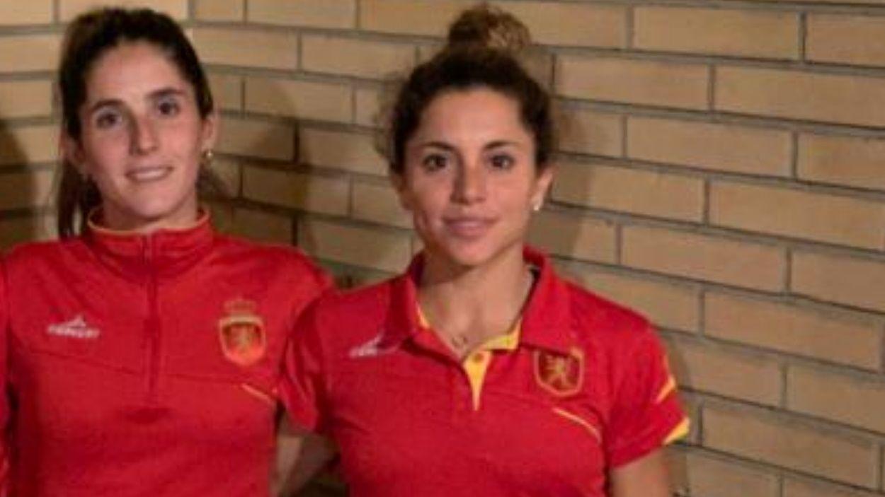 D'esquerra a dreta, Carlota Petchamé i Gigi Oliva / Foto: Cedida