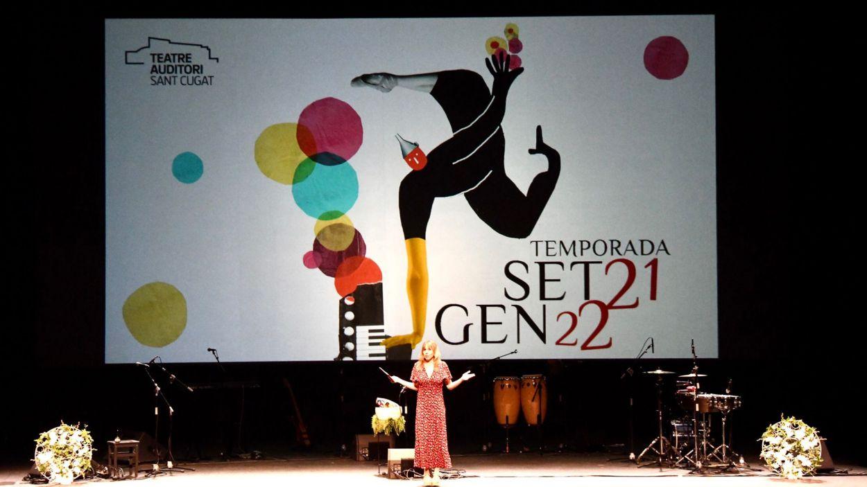 La programació s'ha presentat aquest dimarts al Teatre-Auditori Sant Cugat / Foto: Localpres - Ajuntament
