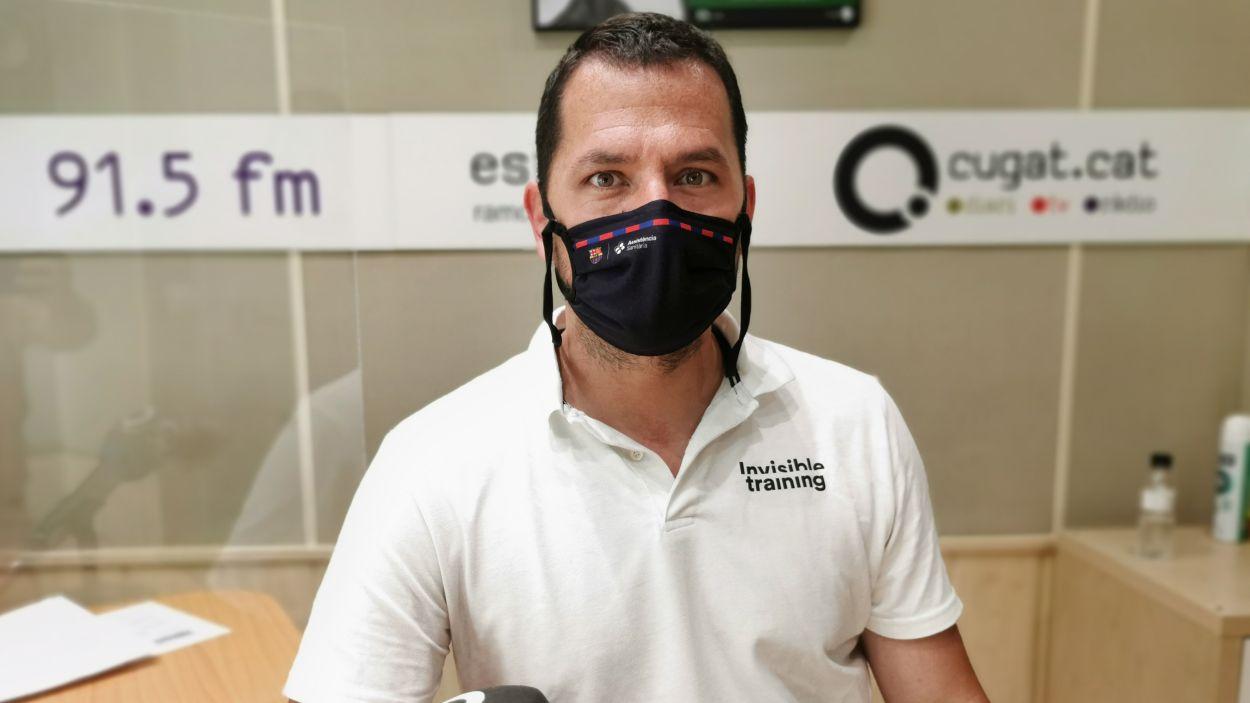 Xavier Linde, director d'Invisible Training / Foto: Cugat Mèdia