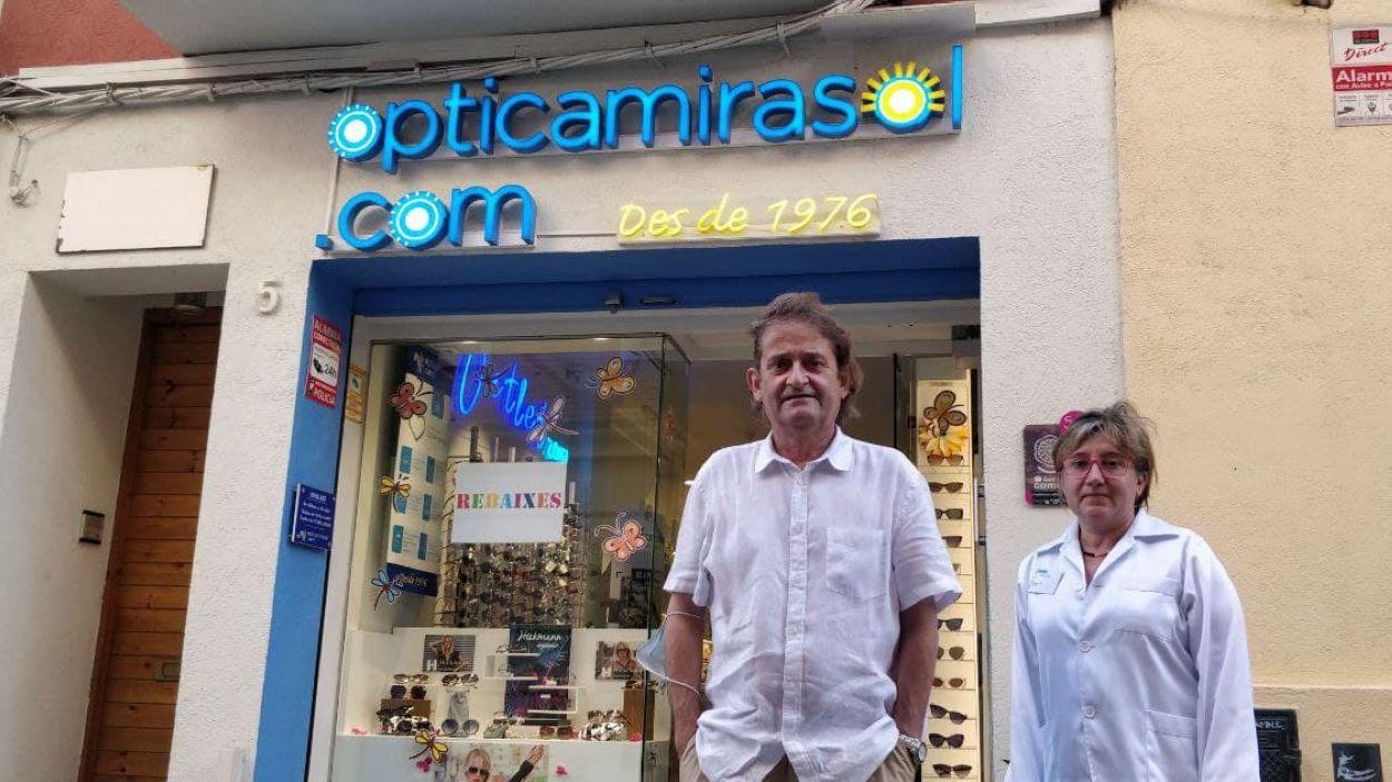 Jordi Martínez i Mireia Soler / Foto: Cugat Mèdia