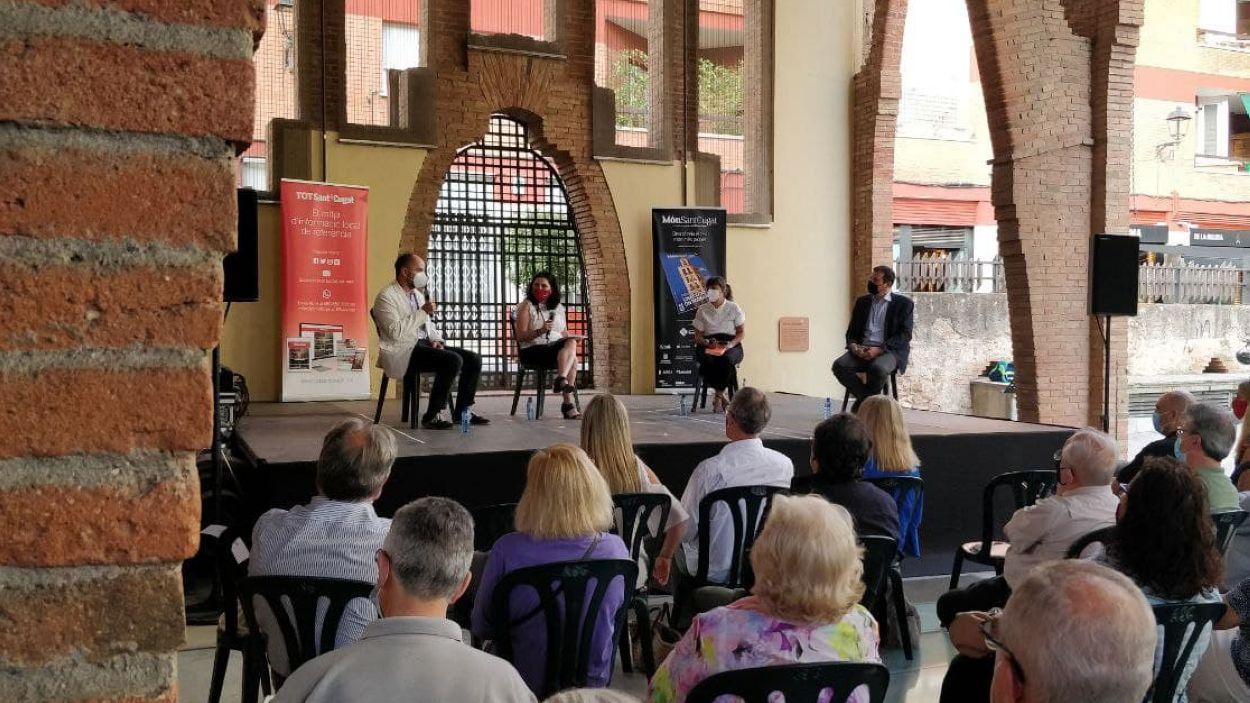 La presentació de 'Món Sant Cugat' ha tingut lloc al Celler Modernista / Foto: Cugat Mèdia