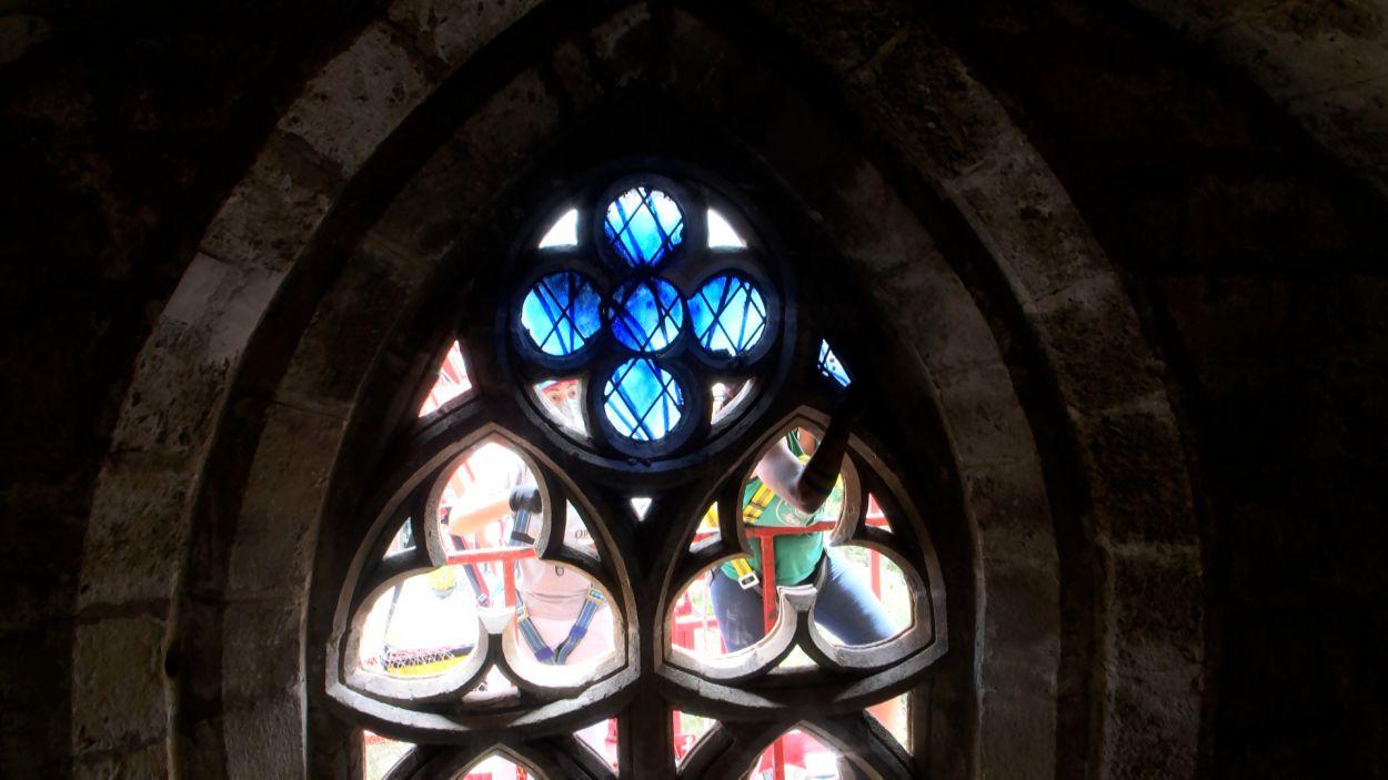 Recorregut: 'Els vitralls del Monestir'