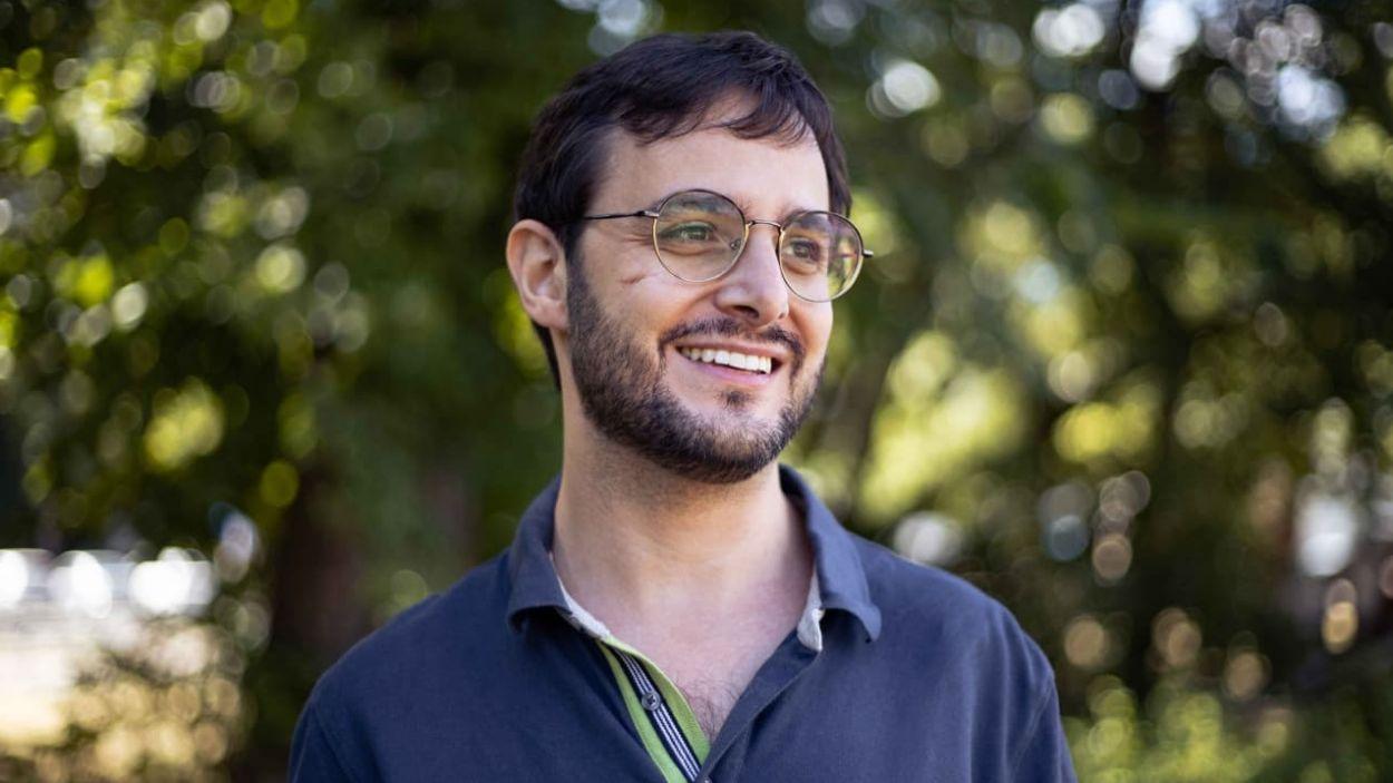 Carles Dachs Clotet, guanyador del premi / Foto: Ajuntament de Sant Cugat