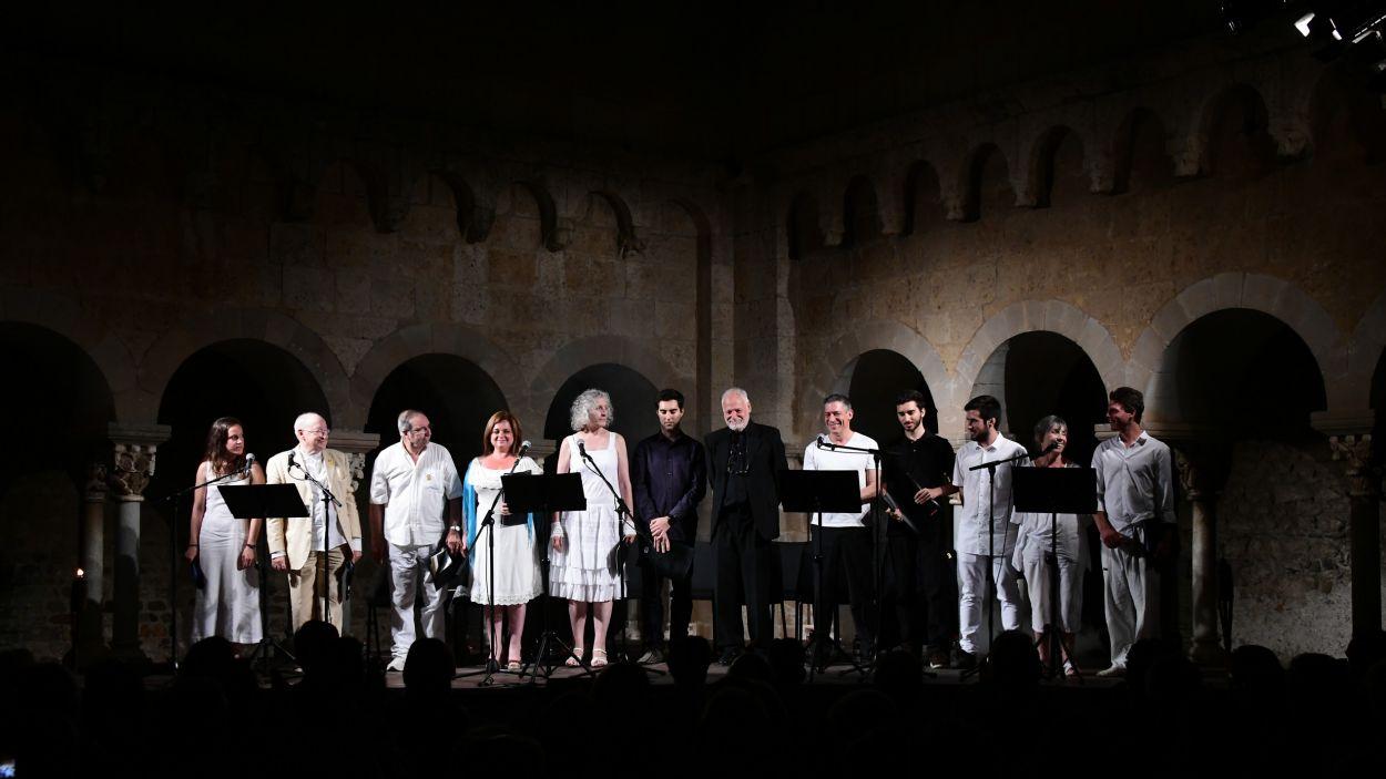 Imatge d'arxiu d'una representació d''El Màrtir Cugat' / Foto: Localpres
