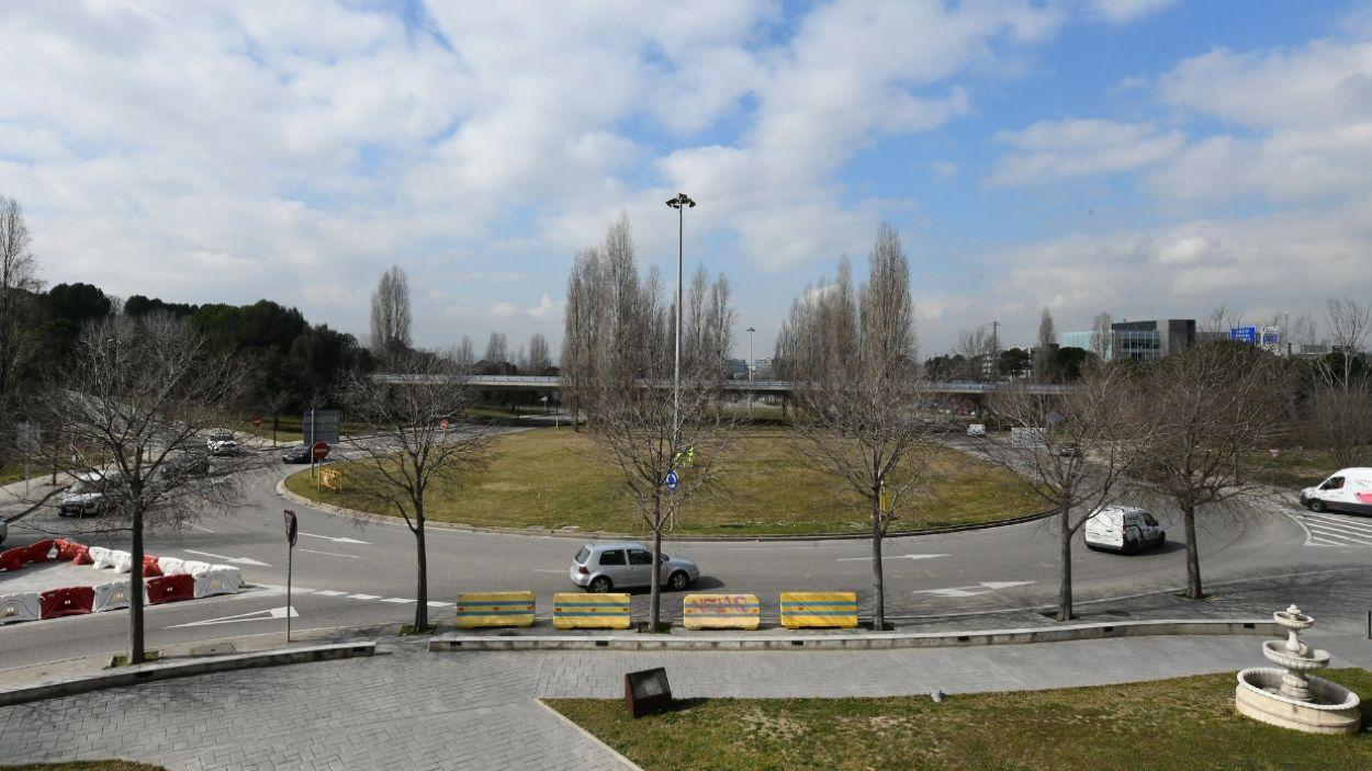 Imatge d'arxiu de la rotonda de l'Hipòdrom / Foto: Cugat Mèdia