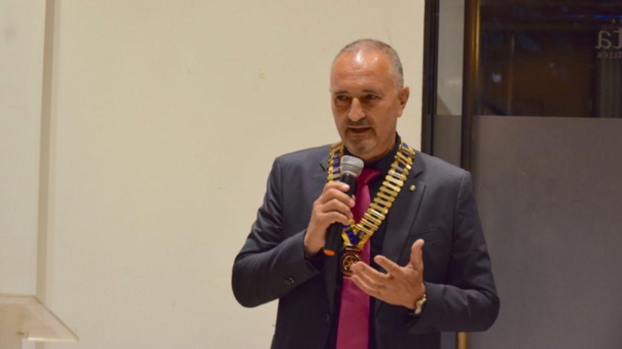 Francisco Giménez, nou president Rotary Club de Sant Cugat / Foto: Cedida