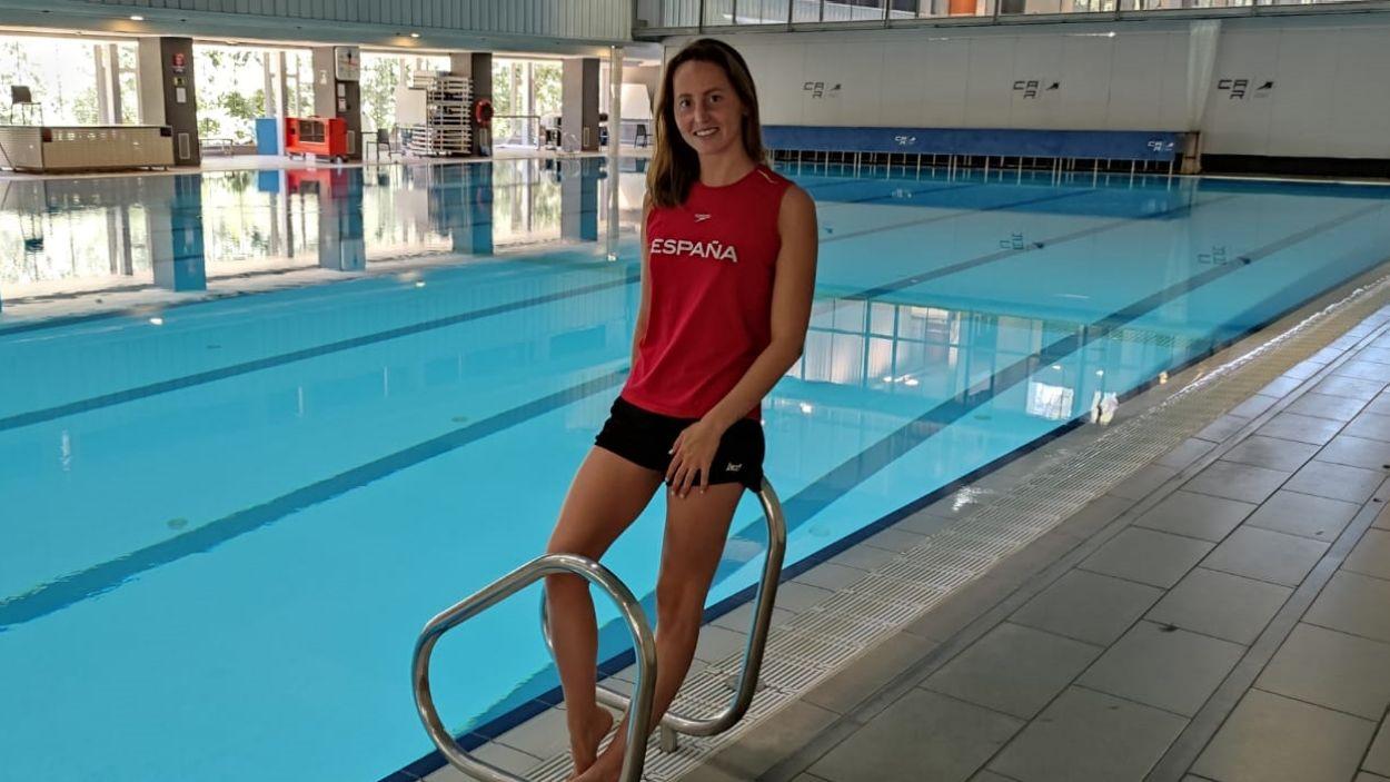 """Paula Ramírez (nedadora sincronitzada): """"Tinc ganes de viure cada minut a Tòquio perquè serà molt especial"""""""