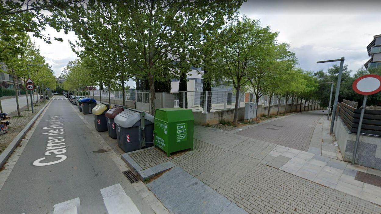 Imatge d'arxiu entre el carrer de Pere Ferrer i de la Coma / Foto: Google Maps