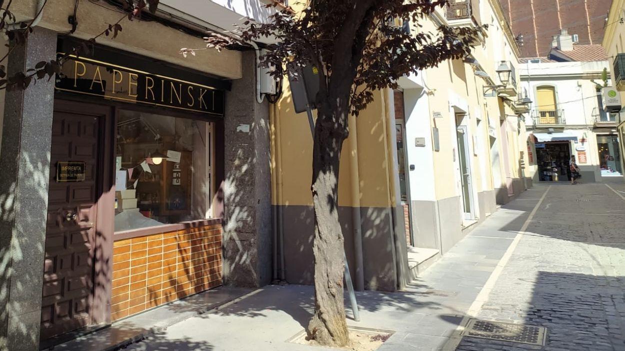 La botiga Paperinski, al carrer Xerric / Foto: Cugat Mèdia
