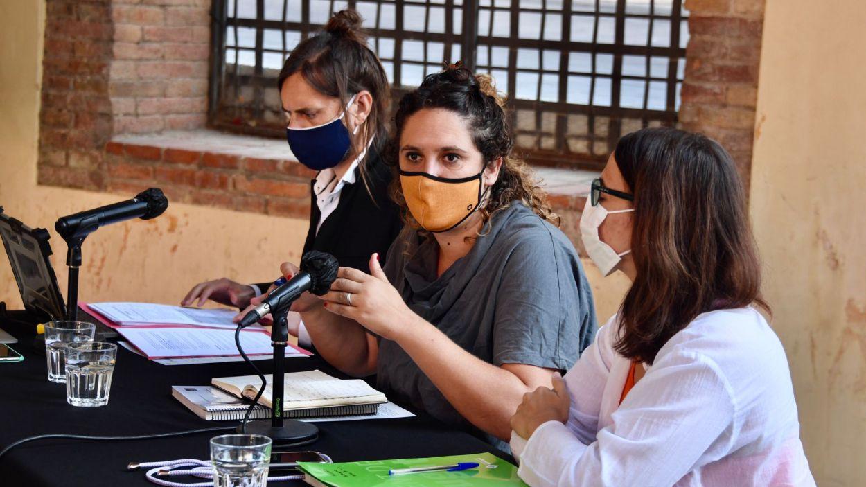 Imatge de la presentació del baròmetre / Foto: Jordi Garcia- Ajuntament