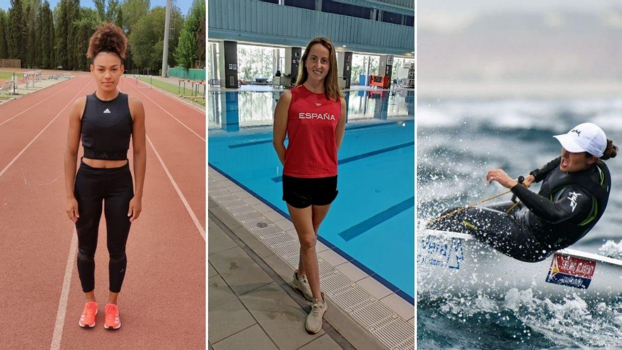 Bestué, Ramírez i Pujol ja estan preparades a Tòquio pel seu debut als Jocs Olímpics