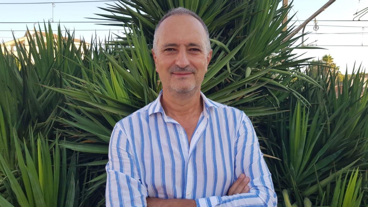 El nou president del Rotary Sant Cugat, Francesc Gimènez / Foto: Cedida