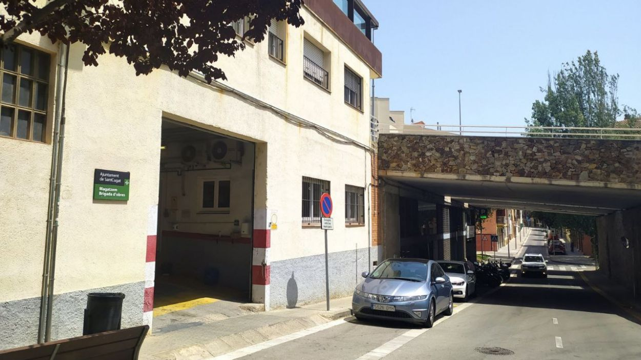 La brigada té el local al carrer Vallès / Foto: Cugat Mèdia