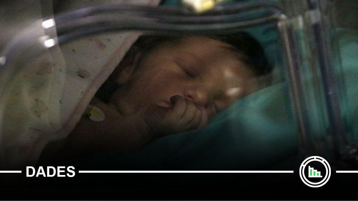 L'any de la pandèmia, el més baix en natalitat des de 1998