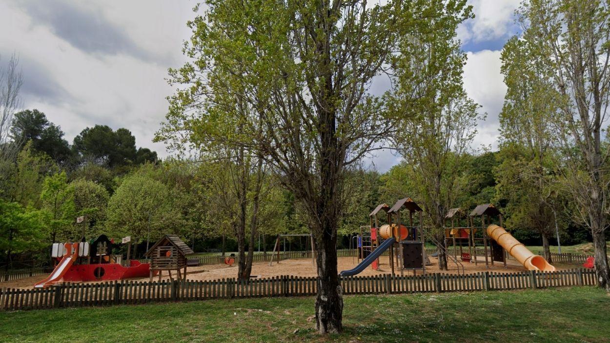Parc infantil de Can Magí / Foto: Google Maps