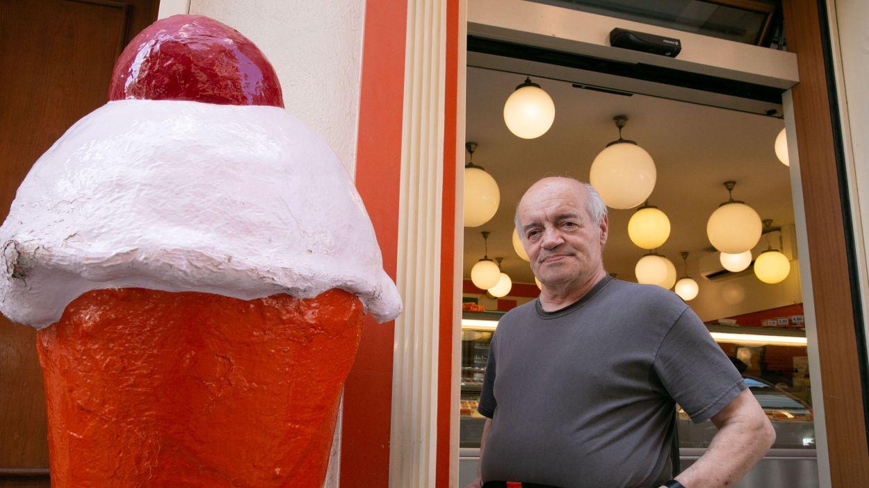 """Joan Pros: """"Fem el mateix gelat de xocolata des del primer dia"""""""